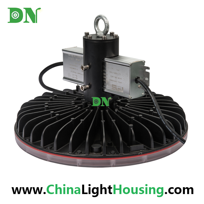 300W 350W 400W UFO High Bay Light Heat Sink Warehouse